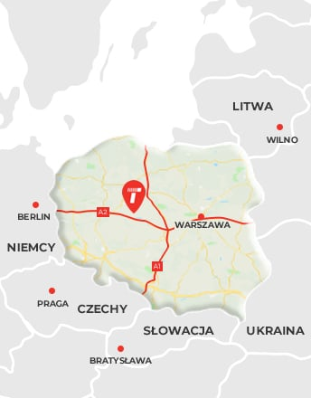 lokalizacja firmy Logit Konin